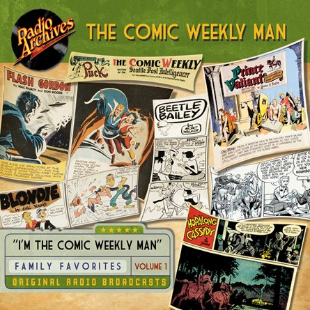 Comic Weekly Man, Volume 1