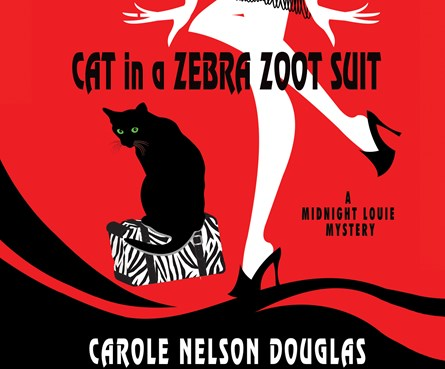 Cat in a Zebra Zoot Suit