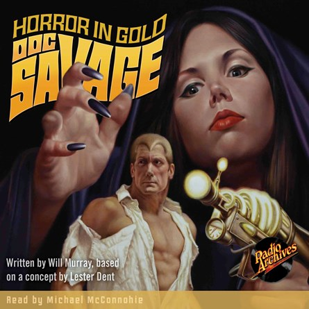 Doc Savage - Horror in Gold